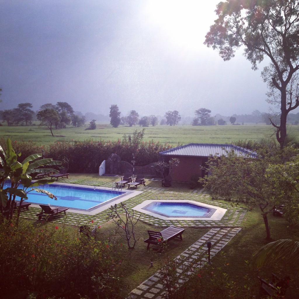 Hideout in Sigiriya