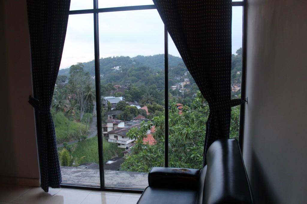 Ausblick vom Kandy View Hotel Sri Lanka